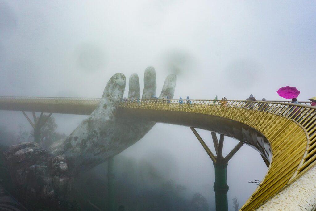 Golden Bridge Fog