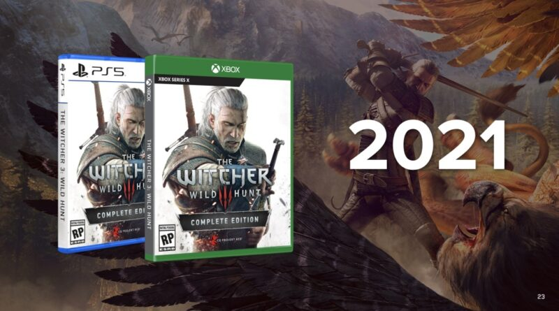 Witcher 3 PS5