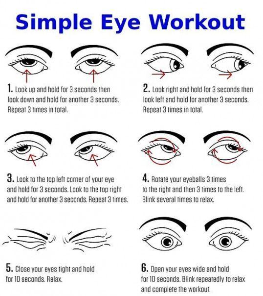 eyes exercise