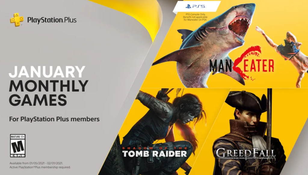 PS Plus January 2021